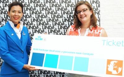 Vera Zijlstra winnaar KLM Package Deal naar Curaçao