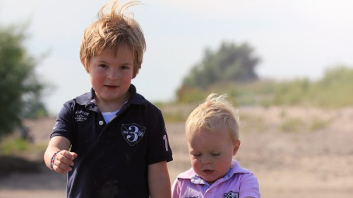 Floris (6) en Fabian (3) doneren aan LINDA.foundation