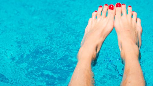 Laat je voeten masseren voor LINDA.foundation