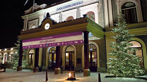 LINDA.foundation bij het Allerhande Kerstfestival