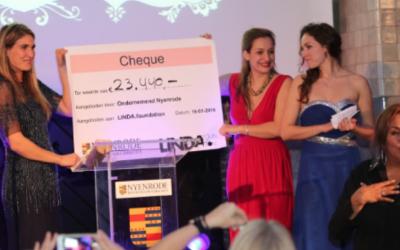 Benefietdiner Nyenrode brengt 23.440 euro op voor de LINDA.foundation