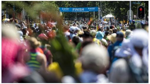 Loop de Nijmeegse Vierdaagse voor de LINDA.foundation