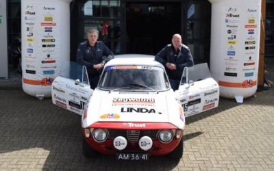Frits Wester en Roelof Hemmen racen voor LINDA.foundation