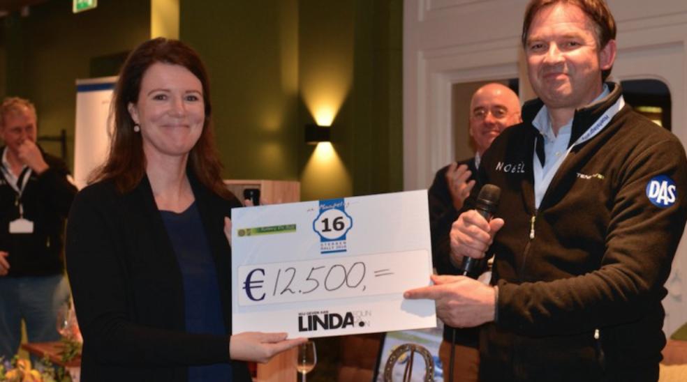 12.500 euro voor de LINDA.foundation dankzij de Hoefslagrally