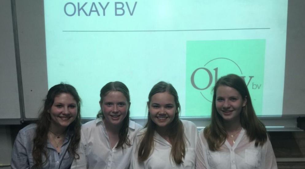 5 VWO-meiden starten bedrijfje en steunen de LINDA.foundation