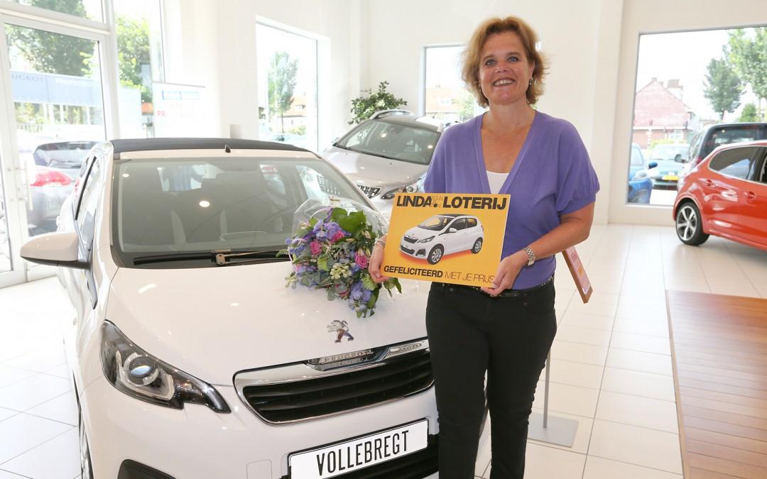 Marieke Vollebregt wint Peugeot TOP met LINDA.foundation-loterij