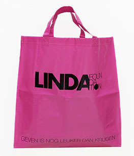 Roze shopper