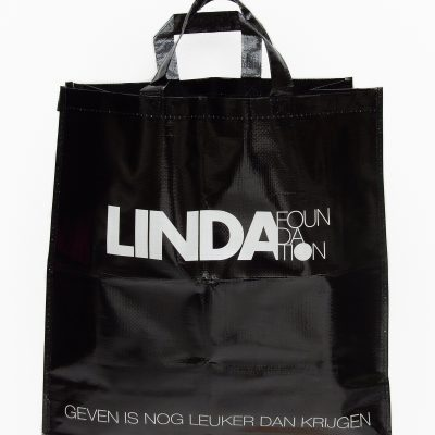 Zwarte LINDA.foundation shopper