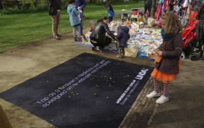 Lege LINDA.foundation-kleden tonen contrast arm en rijk tijdens Koningsdag