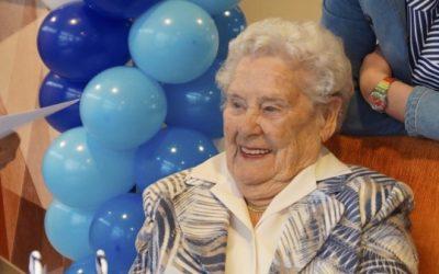 Mevrouw Daniels-Grooteman viert 90ste verjaardag voor LINDA.foundation
