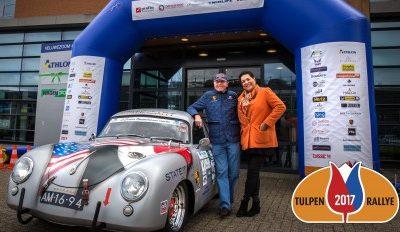 Autocoureurs halen geld op voor LINDA.foundation tijdens Tulpenrallye