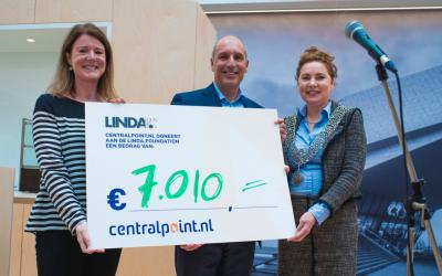 Centralpoint schenkt welkomstcadeau nieuw bedrijfspand aan LINDA.foundation