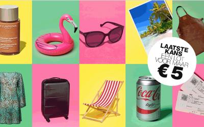 Alleen nog dit weekend: LINDA.foundation-loterij met de leukste zomerse prijzen