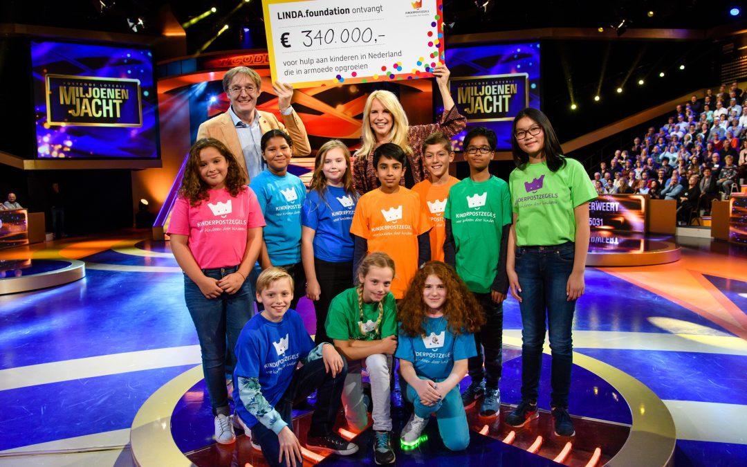 Kinderpostzegelactie: Linda de Mol ontvangt €340.000,- voor LINDA.foundation
