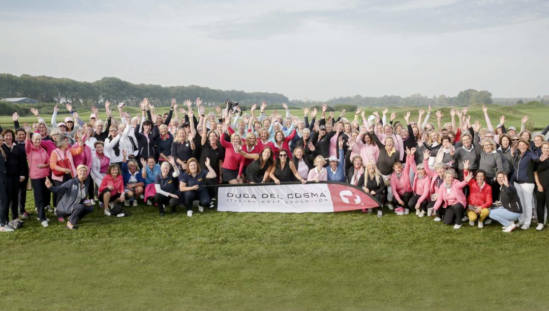 'DIVA'S' golfen ruim €14.000 bij elkaar voor LINDA.foundation