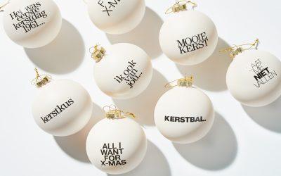 Dit jaar ziet je kerstboom er piekfijn uit met deze LINDA.foundation kerstballen