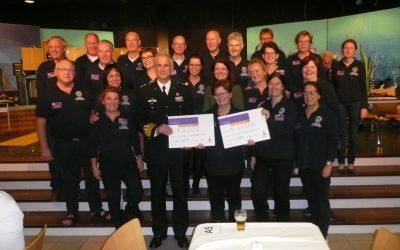 Lionsclub Woerden Castellum Laurum doneert prachtig bedrag aan de LINDA.foundation