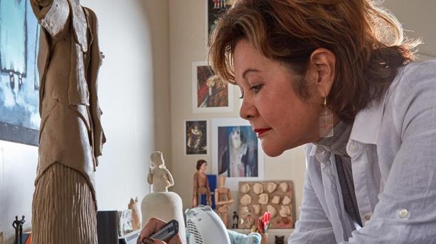 Kunstenaar Josien Damen zet opnieuw haar werk in voor de LINDA.foundation