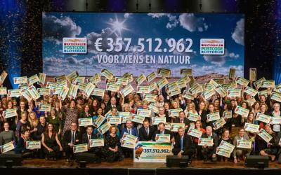 LINDA.foundation ontvangt cheque van €500.000 tijdens Goed Geld Gala