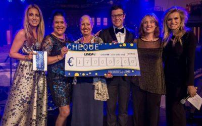 LINDA.foundation én Unicef ontvangen €170.000 dankzij Ondernemersgala Den Haag