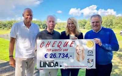 Geweldig: golfers spelen € 26.734 bij elkaar voor LINDA.foundation