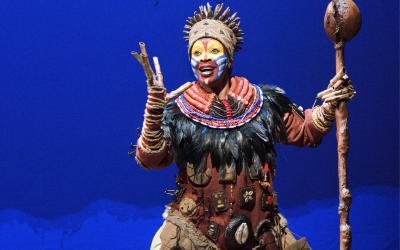The Lion King is jarig en trakteert LINDA.foundation