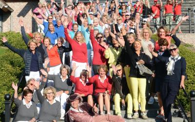 Golfsters halen geweldig bedrag op voor LINDA.foundation