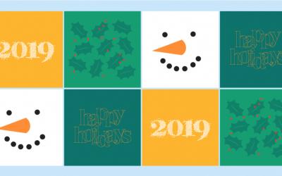 Schrijf (en verstuur) dit jaar een kerstkaart van de LINDA.foundation