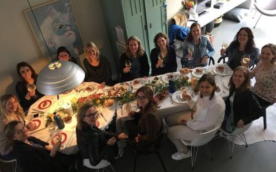 Da's pas fijn: als ware sommeliers verkochten de Ladies van Ladies Circle Utrecht wijn voor LINDA.foundation