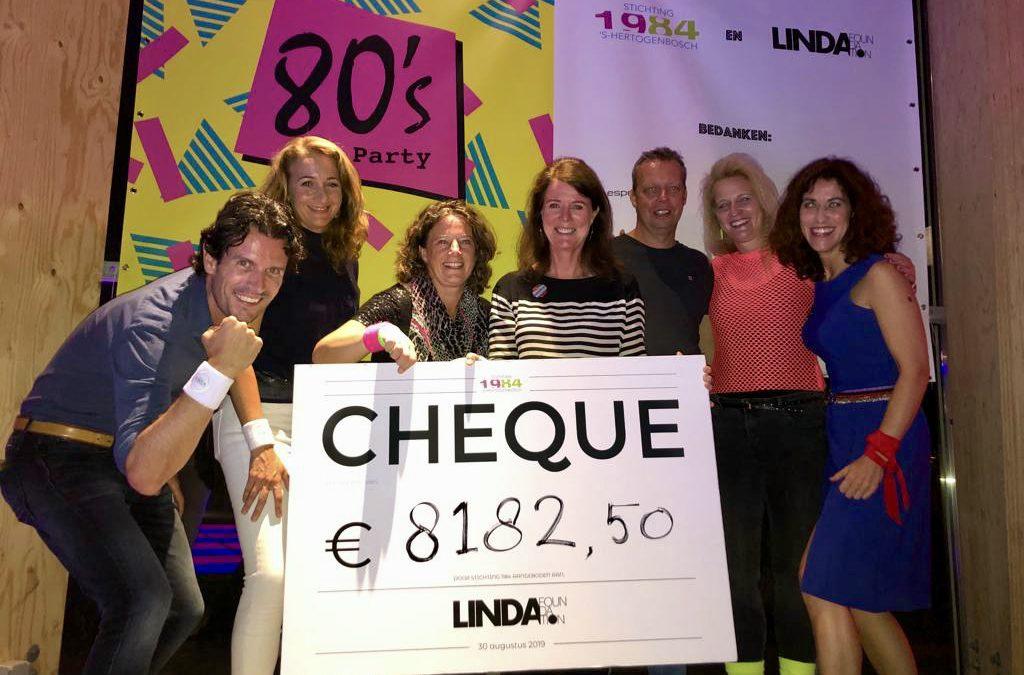 Geweldig: Stichting 1184 haalt duizenden euro's op voor LINDA.foundation