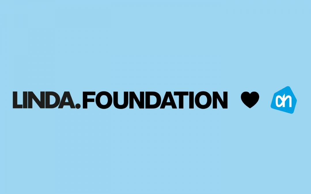 LINDA.foundation krijgt bijdrage van trouwe partner Albert Heijn
