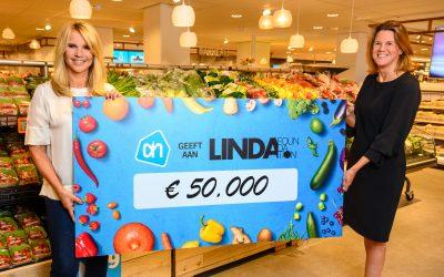 Albert Heijn doneert boodschappenbonnen aan  gezinnen van LINDA.foundation