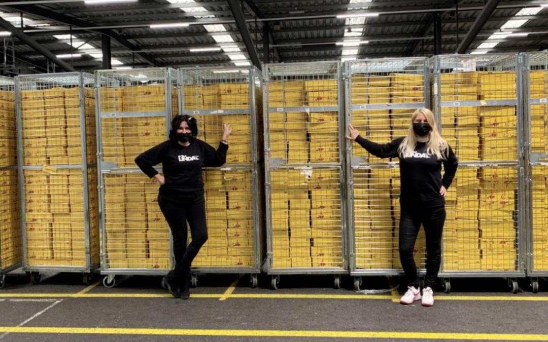 LINDA.foundation blij met nieuwe logistieke partner